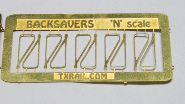 Backsaver Switch Throw N Scale